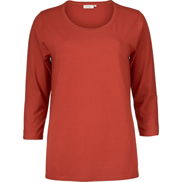 CILLA TOP, RED OCHRE, hi-res