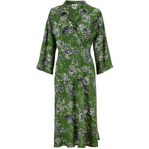 NIKAI DRESS, Garden Green, hi-res