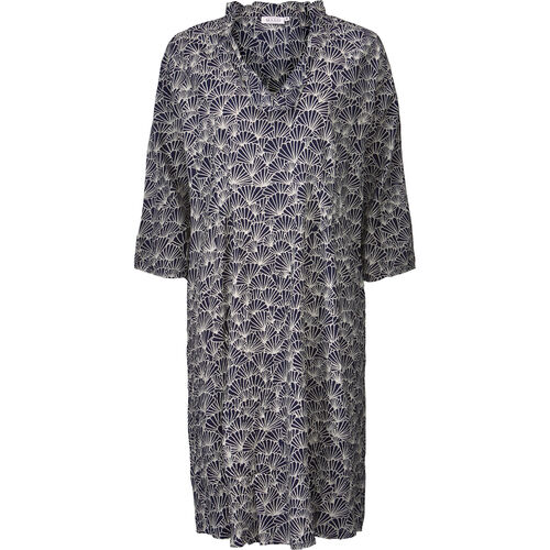NOPA DRESS, NAVY, hi-res