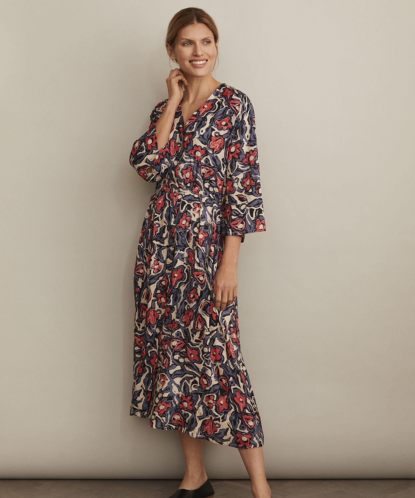 NOEMI DRESS, Rose Sharon, hi-res