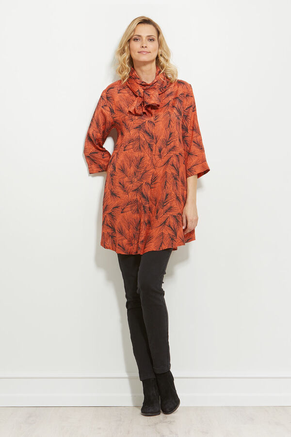 GLENVA TUNIC, FLAME, hi-res