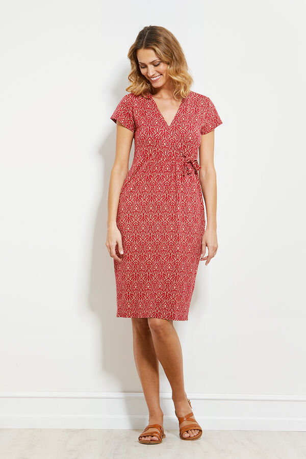 NEBANA DRESS, BEETROOT, hi-res