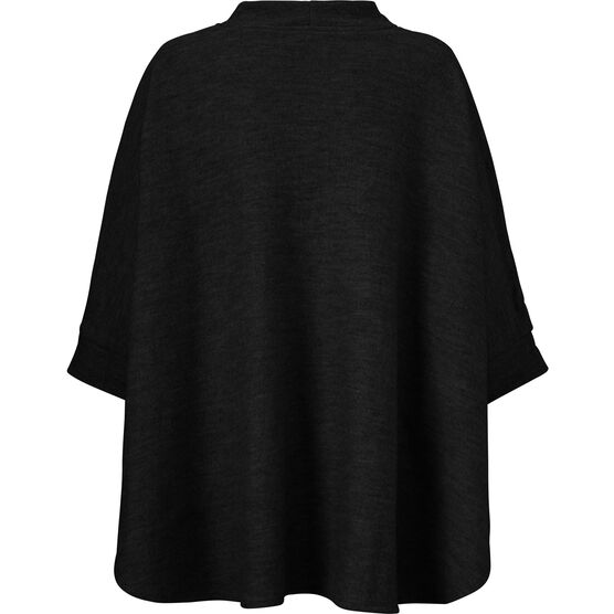 TAVITA CAPE, BLACK, hi-res