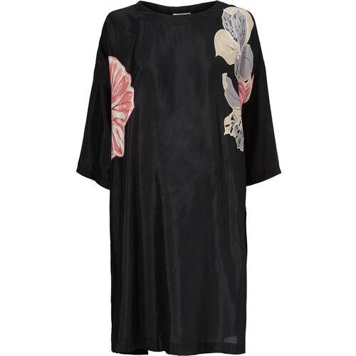 NADA DRESS, Burnt Coral, hi-res