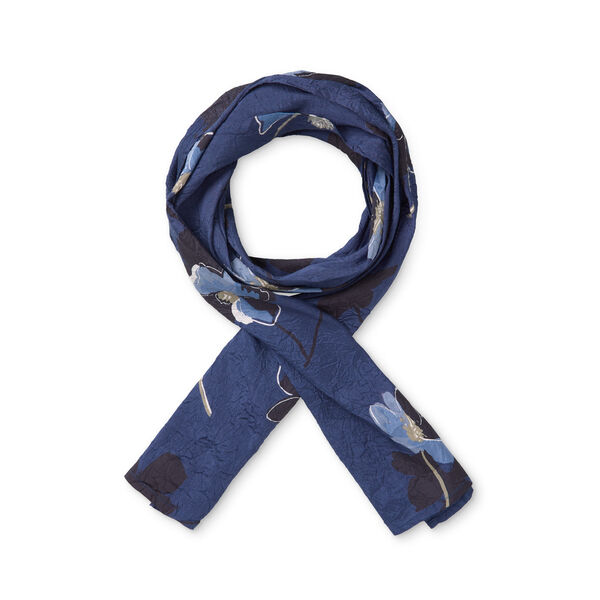 ALONG SCARF, SAPPHIRE, hi-res