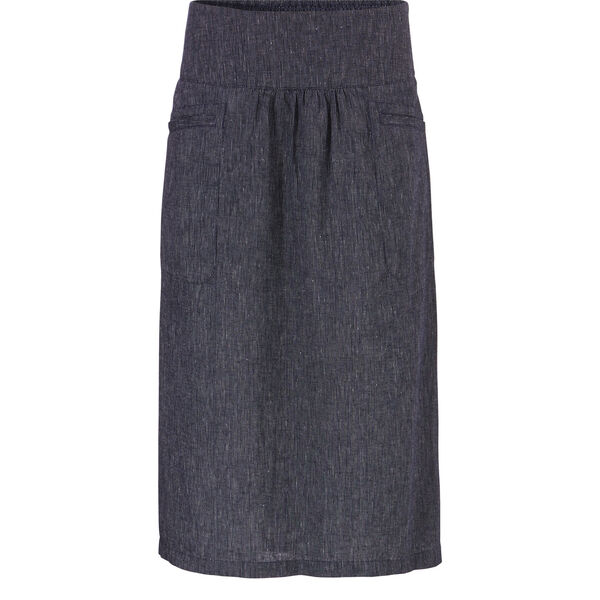 SANDRA SKIRT, NAVY, hi-res