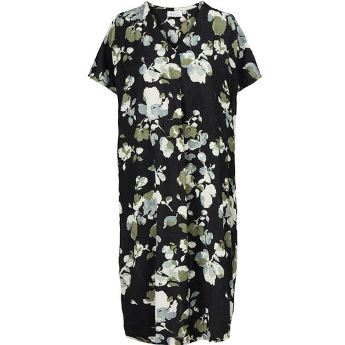 ODETTA DRESS, Black, hi-res