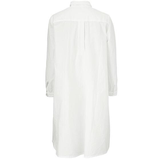 NESTA SHIRT DRESS, White, hi-res