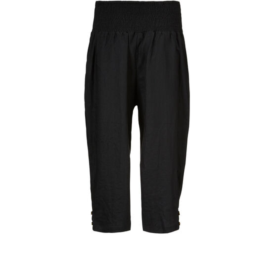 PEN TROUSERS, Black, hi-res