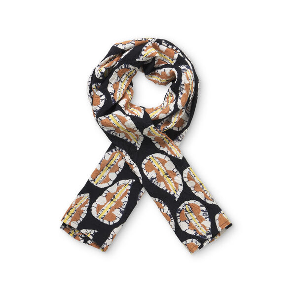 ALONG SCARF, Cream gold, hi-res