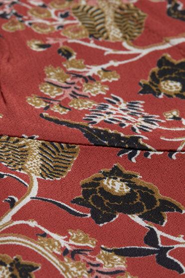 NINKI DRESS, RED OCHRE, hi-res