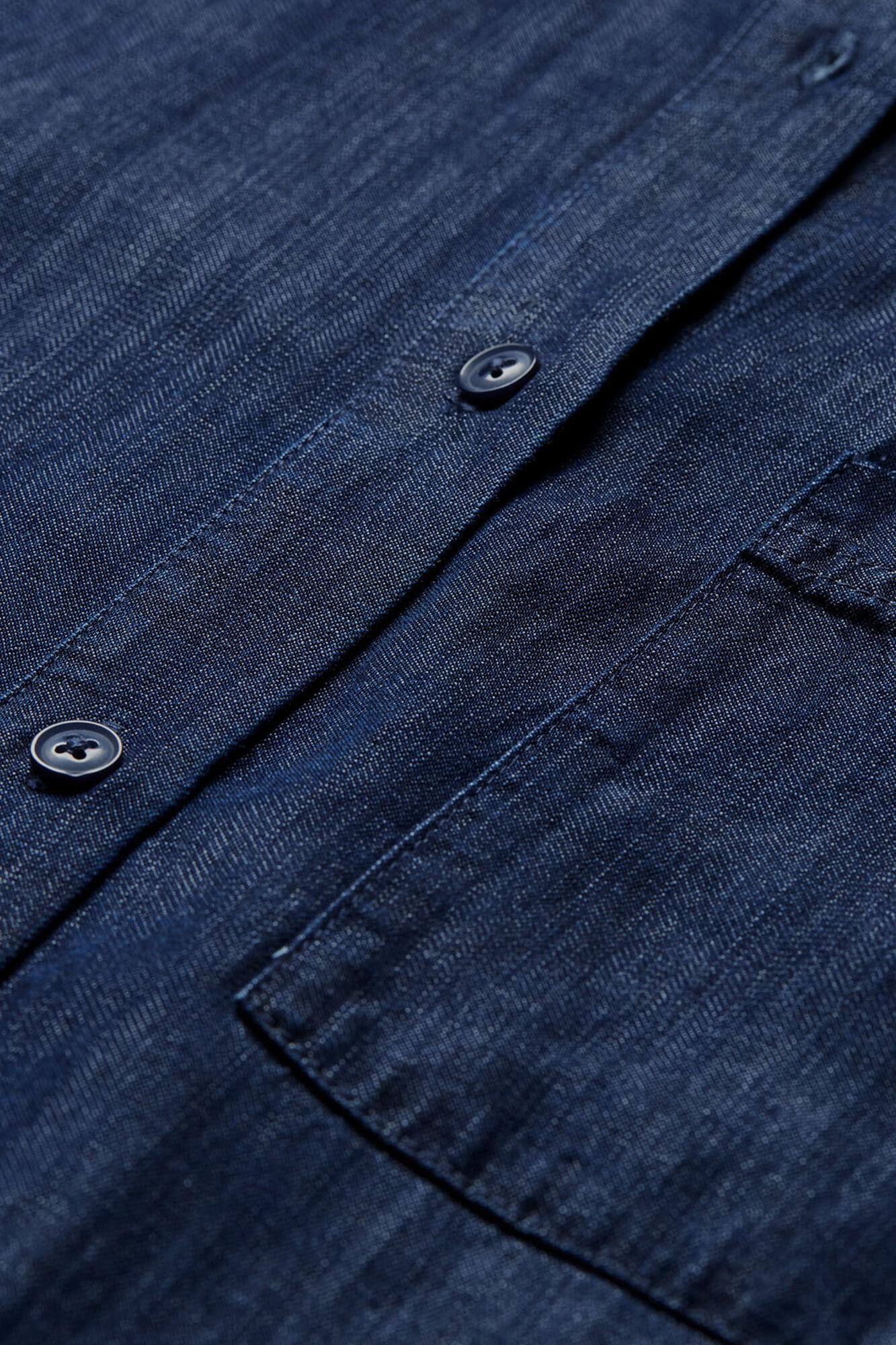 NOOR SHIRT DRESS, Dark Denim, hi-res