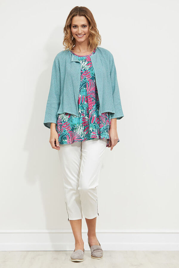 JULITTA JACKET, AQUA, hi-res