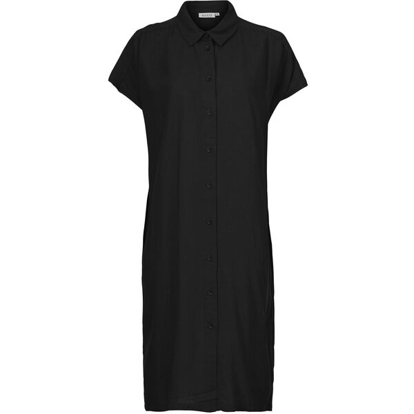 NELLA DRESS, Black, hi-res