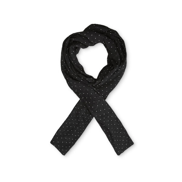 ALONG SCARF, BLACK, hi-res