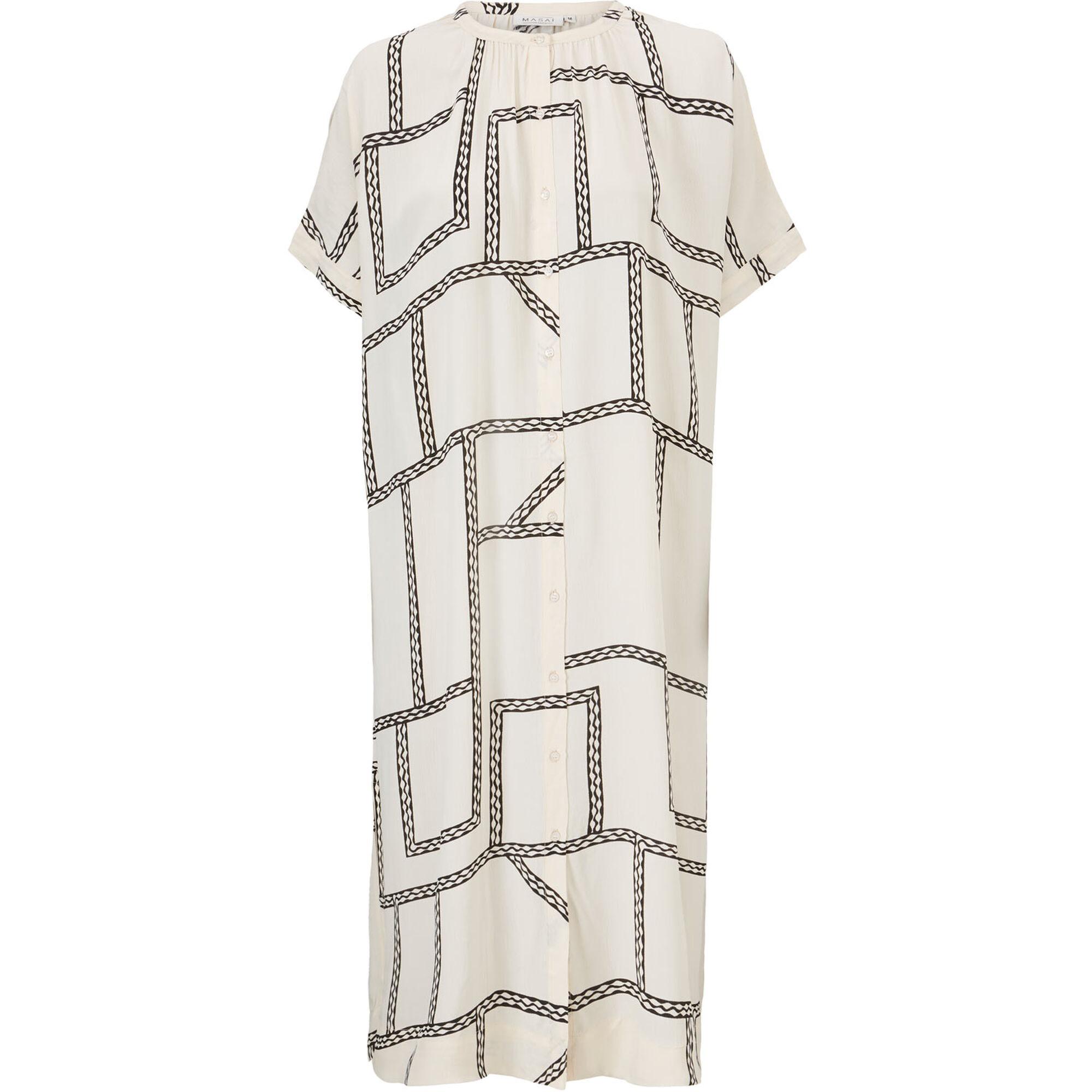 ONORA SHIRT DRESS, Whitecap, hi-res