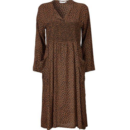 NICOLA DRESS, AMBER, hi-res