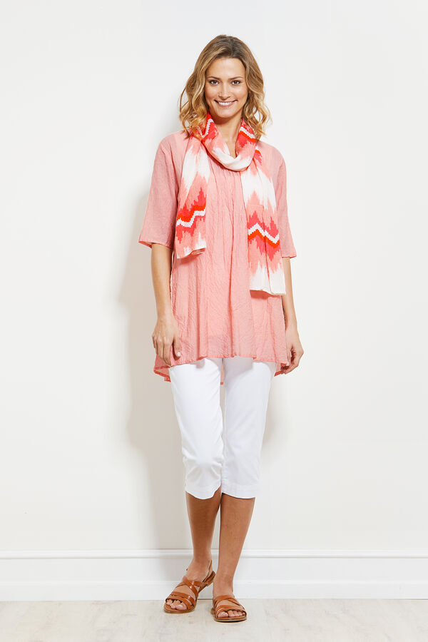 GABONA TUNIC, PEACH, hi-res