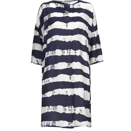 Nelsa dress, NAVY, hi-res