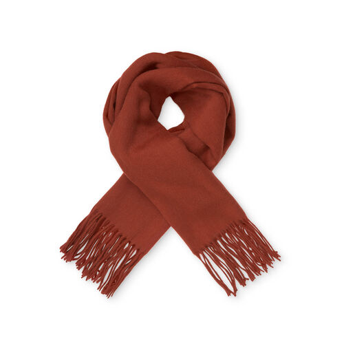 ANNA SCARF, RED OCHRE, hi-res