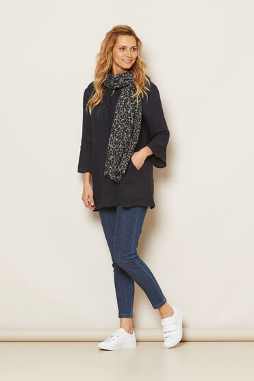 JOSEFINA JACKET, NAVY, hi-res