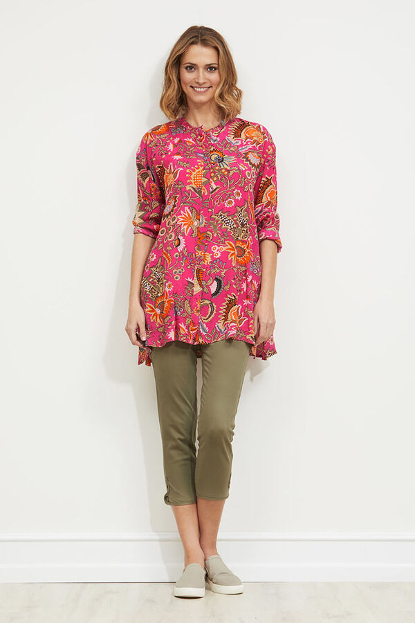 Idelta blouse, MANDARIN, hi-res