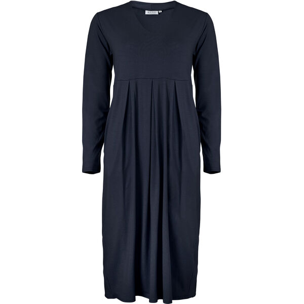 NEBA DRESS, NAVY, hi-res