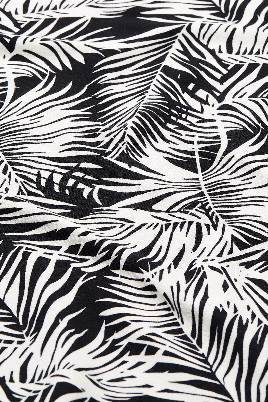 ELISA TOP, Black print, hi-res