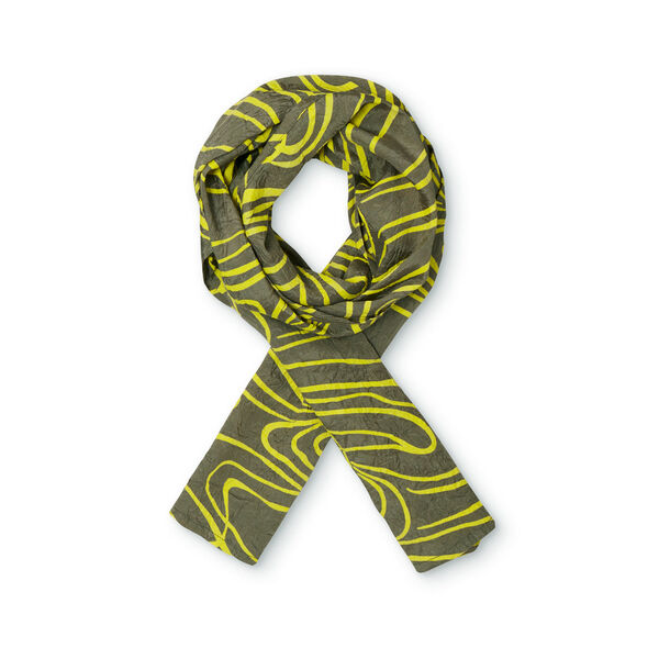 ALONG SCARF, CANARY, hi-res