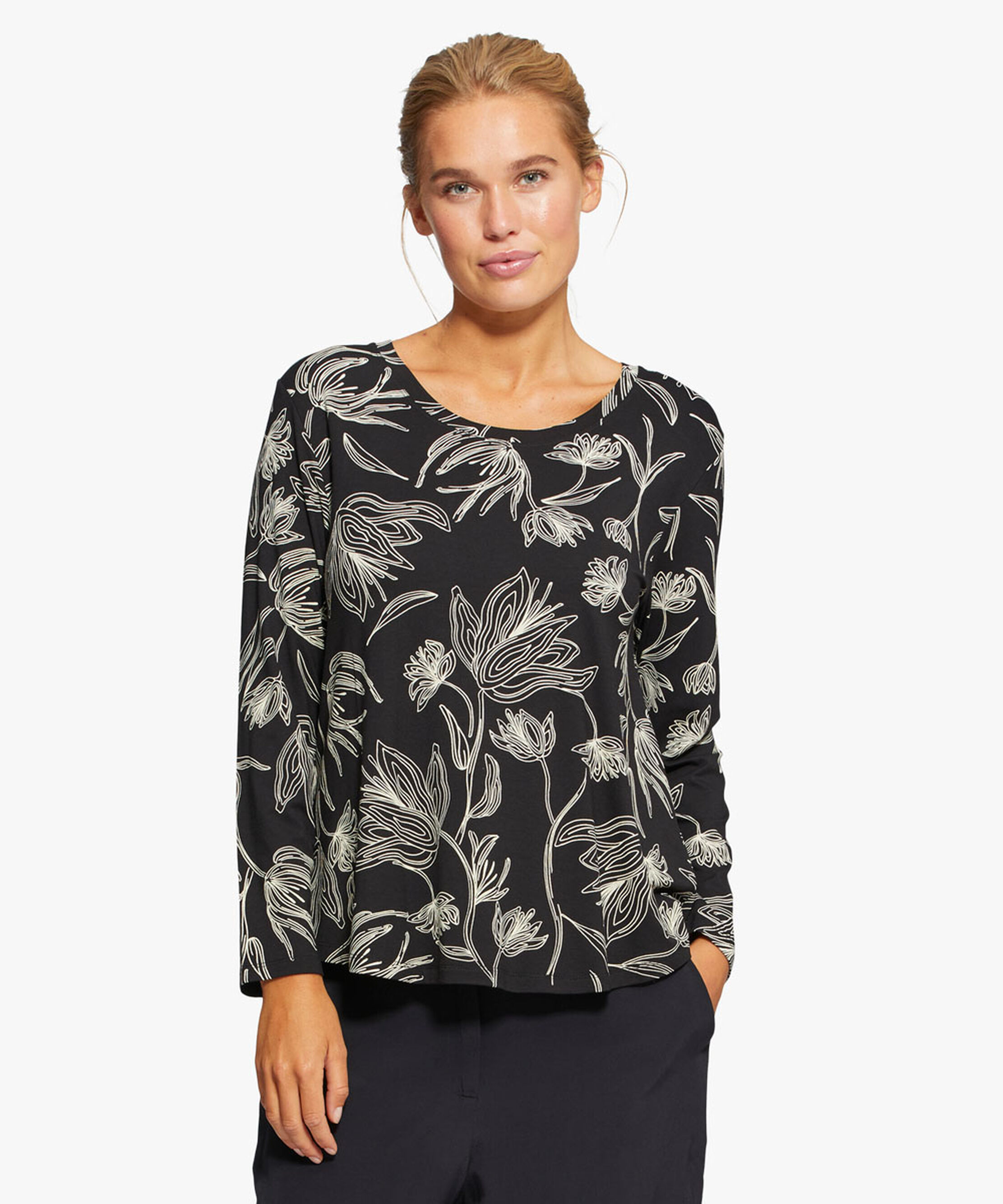 BADISNA TOP, Black, hi-res