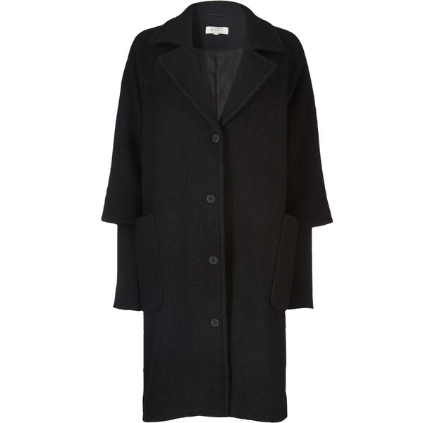 TRACY COAT , BLACK, hi-res