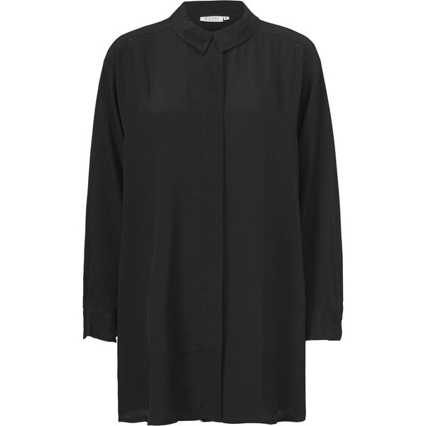 INE BLOUSE, BLACK, hi-res