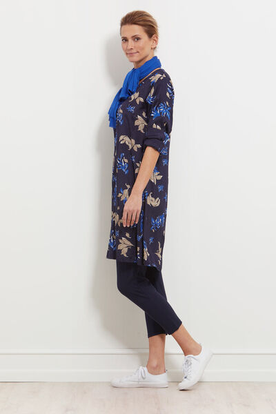 NAELLA DRESS, NAVY, hi-res