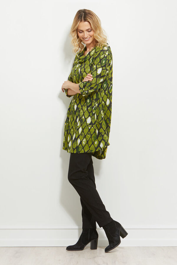 GRACILA TUNIC, LIME, hi-res