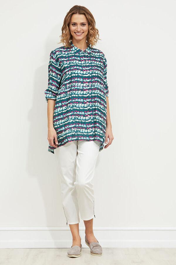 Itana blouse, FORREST, hi-res