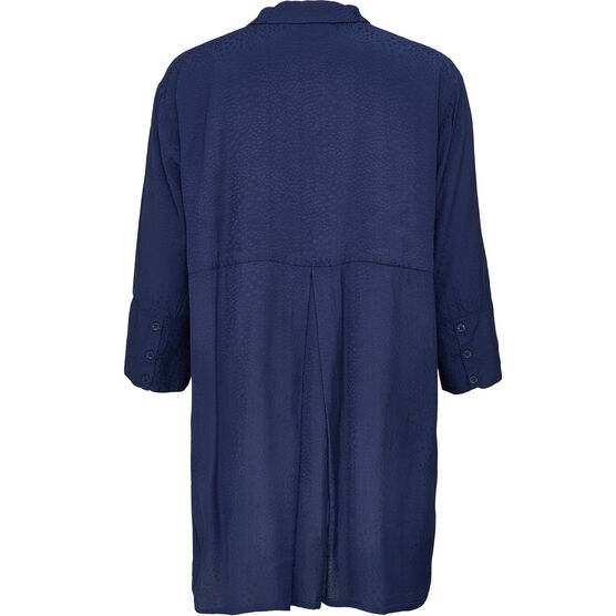 INDRASSI BLOUSE, SAPPHIRE, hi-res