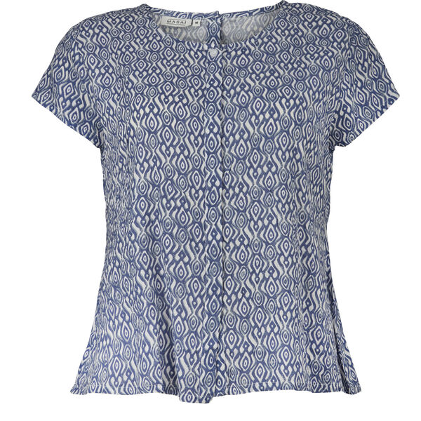 IA BLOUSE, BLUE, hi-res