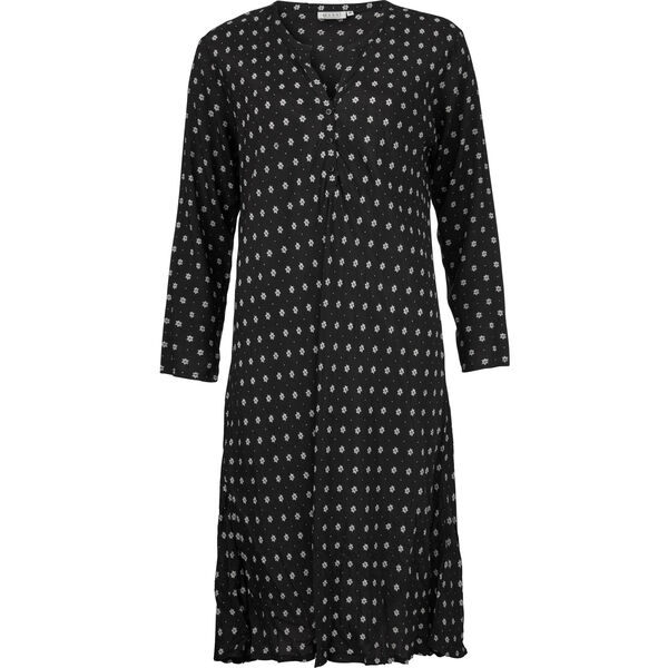 NABA DRESS, BLACK, hi-res