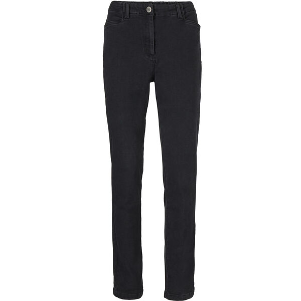 PALLA TROUSERS, BLACK DENIM, hi-res