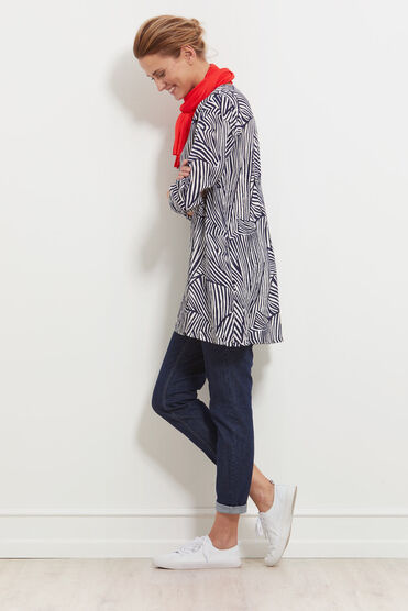 GAMILA TUNIC, NAVY, hi-res