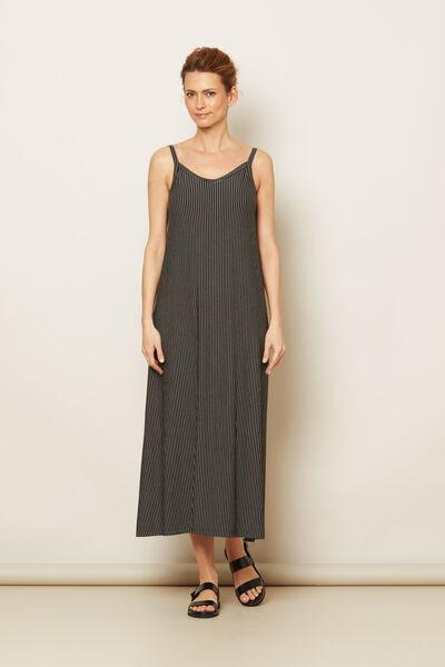 ODA DRESS, Black, hi-res