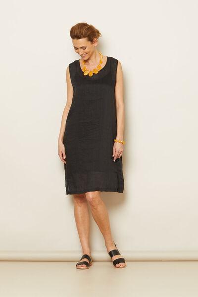 ODETTI DRESS, Black, hi-res