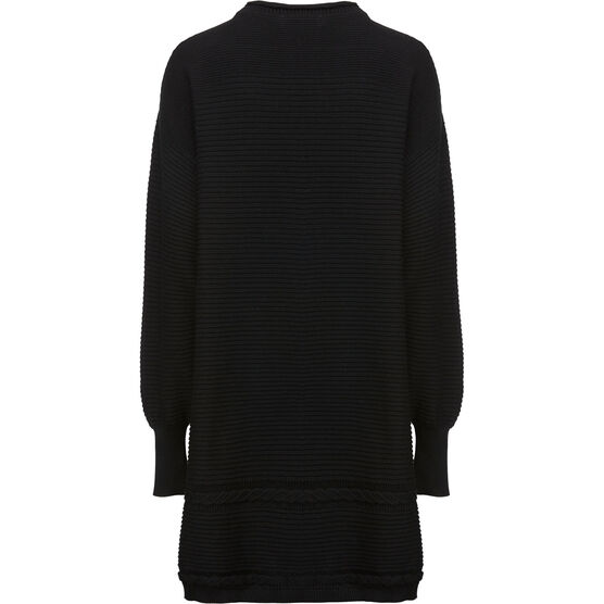 GLEN TUNIC, Black, hi-res