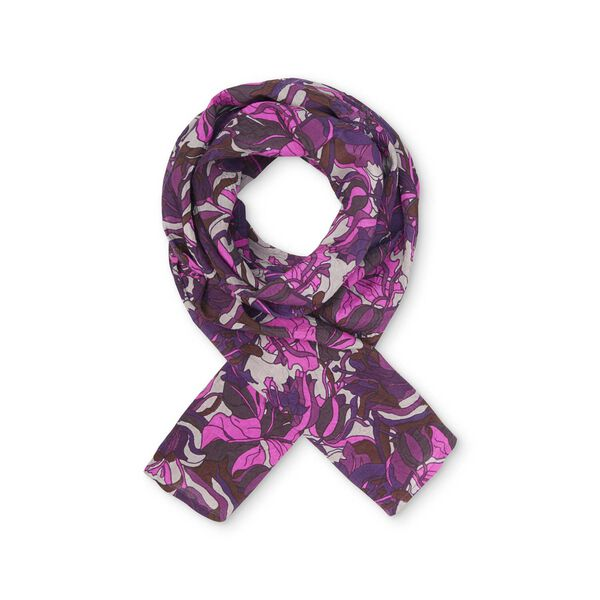 ALONG SCARF, BURGUNDY, hi-res
