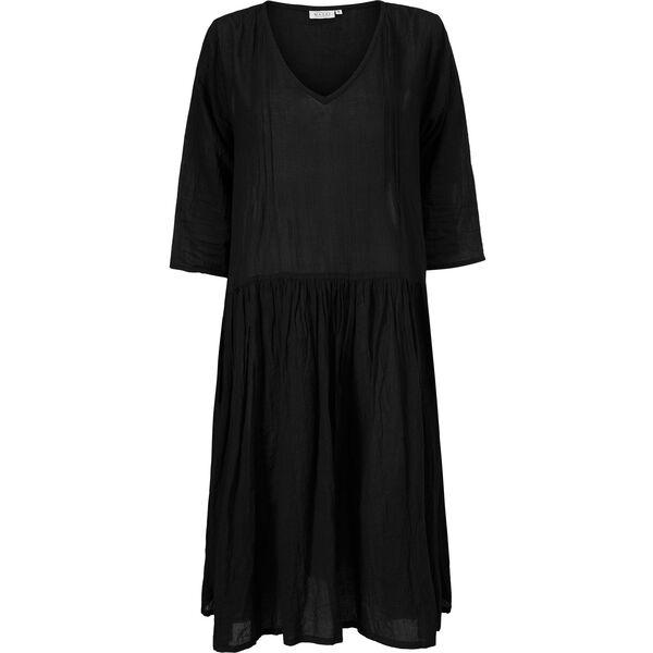 NEOMA DRESS, BLACK, hi-res