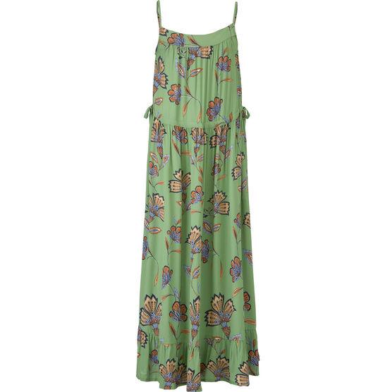 OLIVIA DRESS, Stone Green, hi-res