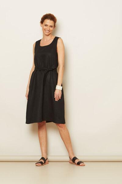 OFELIA DRESS, Black, hi-res